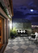 Terrace at Night - As Janelas Verdes
